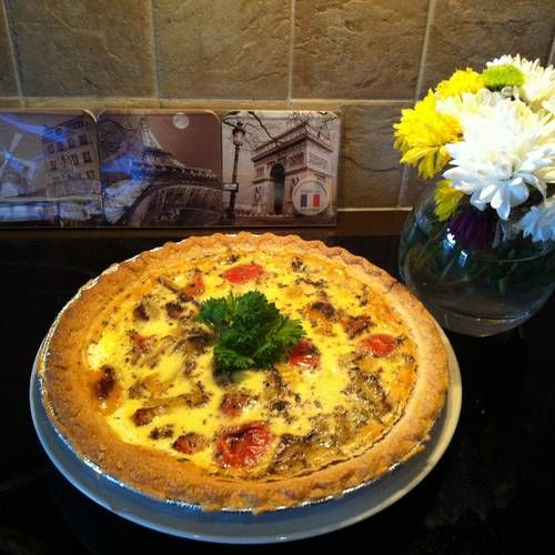 Beautiful Spring Quiche