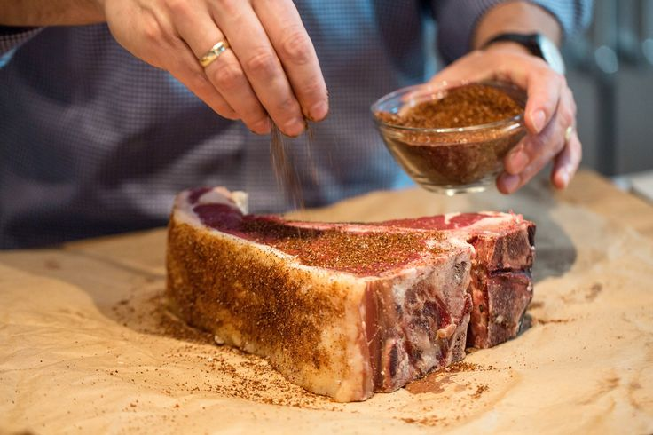 This easy-to-make seasoning mixture gives meat a spicy, slightly sweet flavor Apply a thin coating before grilling beef, pork or lamb Or use as a condiment to season the meat once you've carved and portioned it.