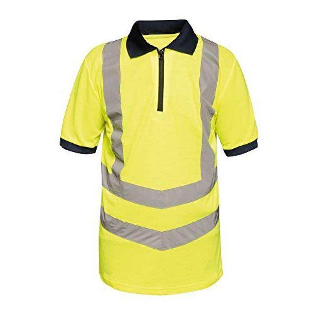 Regatta Herren Poloshirt in Warnfarben