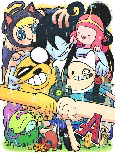 Adventure Time group.