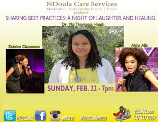 #HealthComedyWellness Sharing Best Practices: Eve of Laughter & Healing Flying Beaver Pub Sun Feb 22 7-9p www.MaiHeathND.wordpress.com