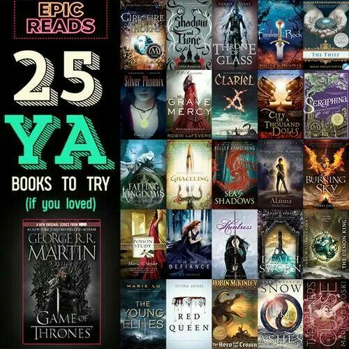 YA books for game of thrones fans   young adult fantasy epic novels   teen books historical fantasy