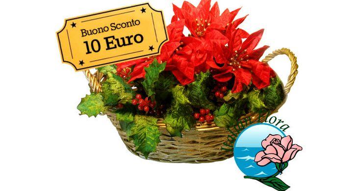 Grazie alla promozione Natale di Italian Flora, risparmi 10 euro sulla composizione di stelle di Natale rosse in cesto con bacche e decorazioni natalizie, la soluzione ideale per porgere gli auguri di buone feste: http://maxisconti.net/offerta/risparmia-10-euro-con-la-promozione-natale-di-italian-flora/