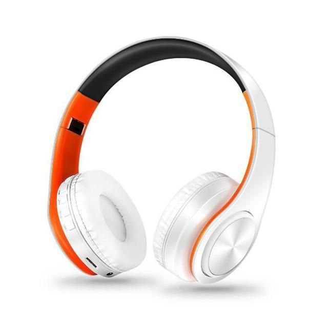 New Arrival colorful stereo Audio Mp3 Bluetooth Headset