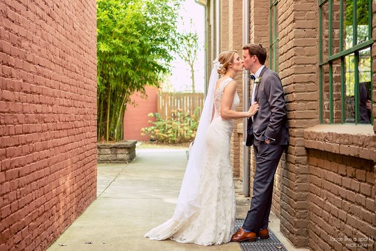 The Foundry at Puritan Mill Wedding :: Meagan + Brandon :: with Tyler » (Once Like a Spark) Photography