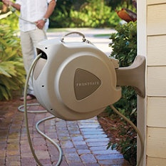 Retractable Hose Reel   I Just Ordered My Retractable Hose Reel. They Are  Very Convenient. Update   2 Units Had To Be Replaced Within The Year.