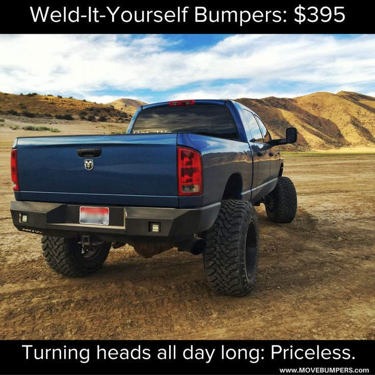 79 best trucklife diy bumper kits images on pinterest soldering custom diy bumper kits 395 movebumpers solutioingenieria Choice Image