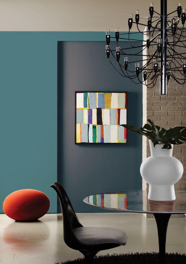 Łączenie kolorów we wnętrzach