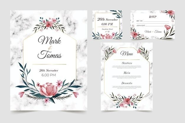 Floral Wedding Card Kad Kahwin Kad Kahwin Online Design Kad Kahwin Kad Kahwin Murah Kahwin Kad Jemputa Wedding Cards Wedding Card Design Invitation Cards