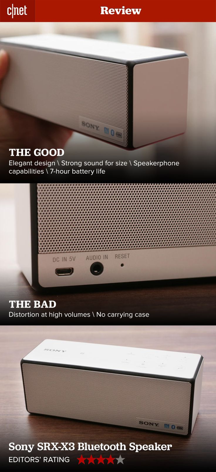 Competition in the Bluetooth speaker space is picking up.  See how the latest from Sony stands out.