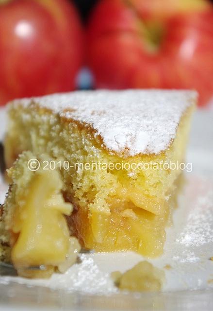 Torta di mele caramellate 1 by MentaeCioccolato
