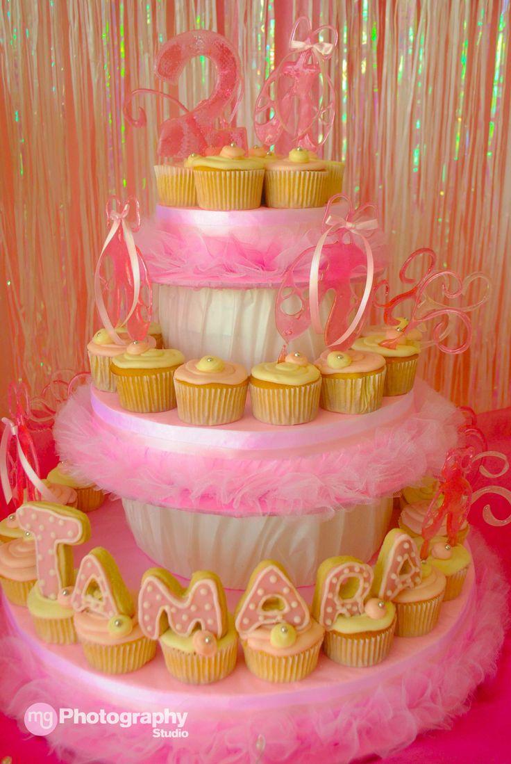 Kitty ballerina birthday cake