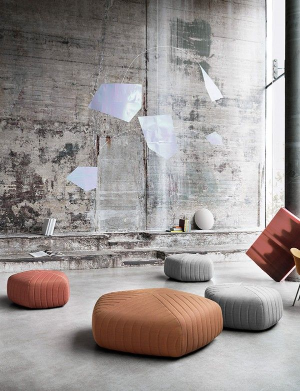 With a new and exaggerated diameter, FIVE POUF XL is an adaptable, yet elegant piece capable of leaving a lasting impression. Created by Norwegian design duo Andersen & Voll, the FIVE POUF XL is upholstered in Denmark using Kvadrat textiles.   The pouf's pentagon shape creates an ideal silhouette for versatile settings. From afar, the way the textile drapes around the perimeter along with the exposed stitching highlights the intricate attention to detail.    The Five Pouf XL is only…
