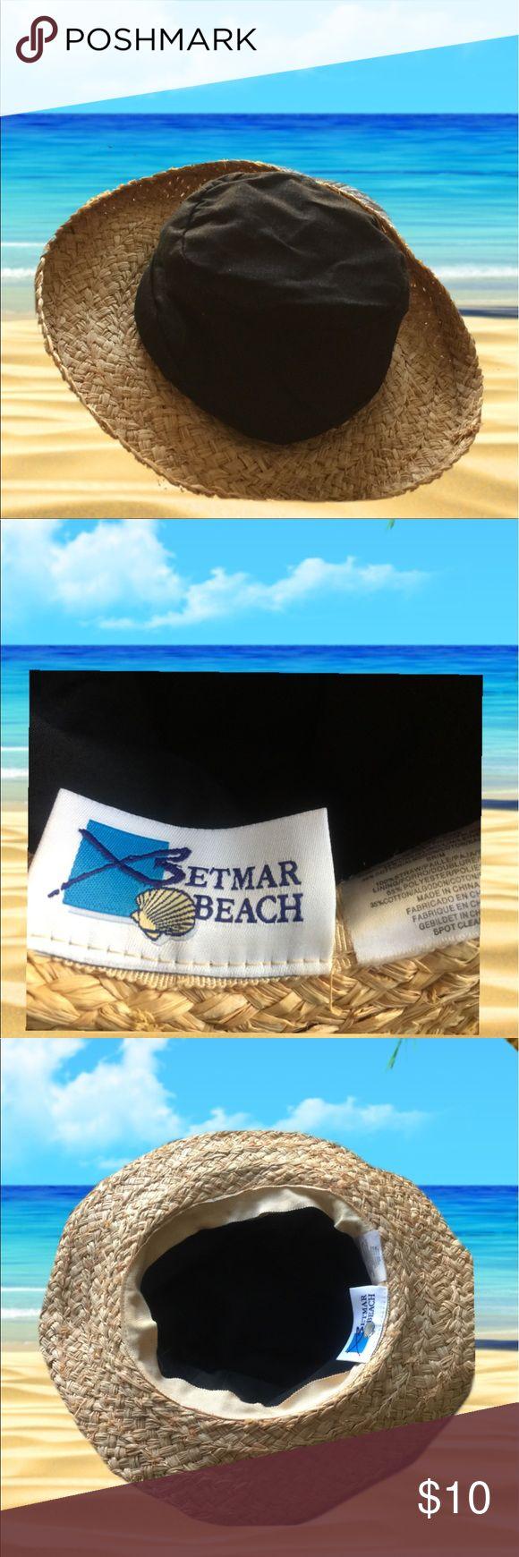 Betmar beach women hat two tone Betmar beach great condition betmar beach Accessories Hats