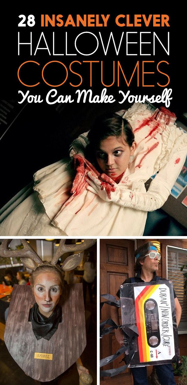 28 Insanely Clever Halloween Costumes You Can Make Yourself