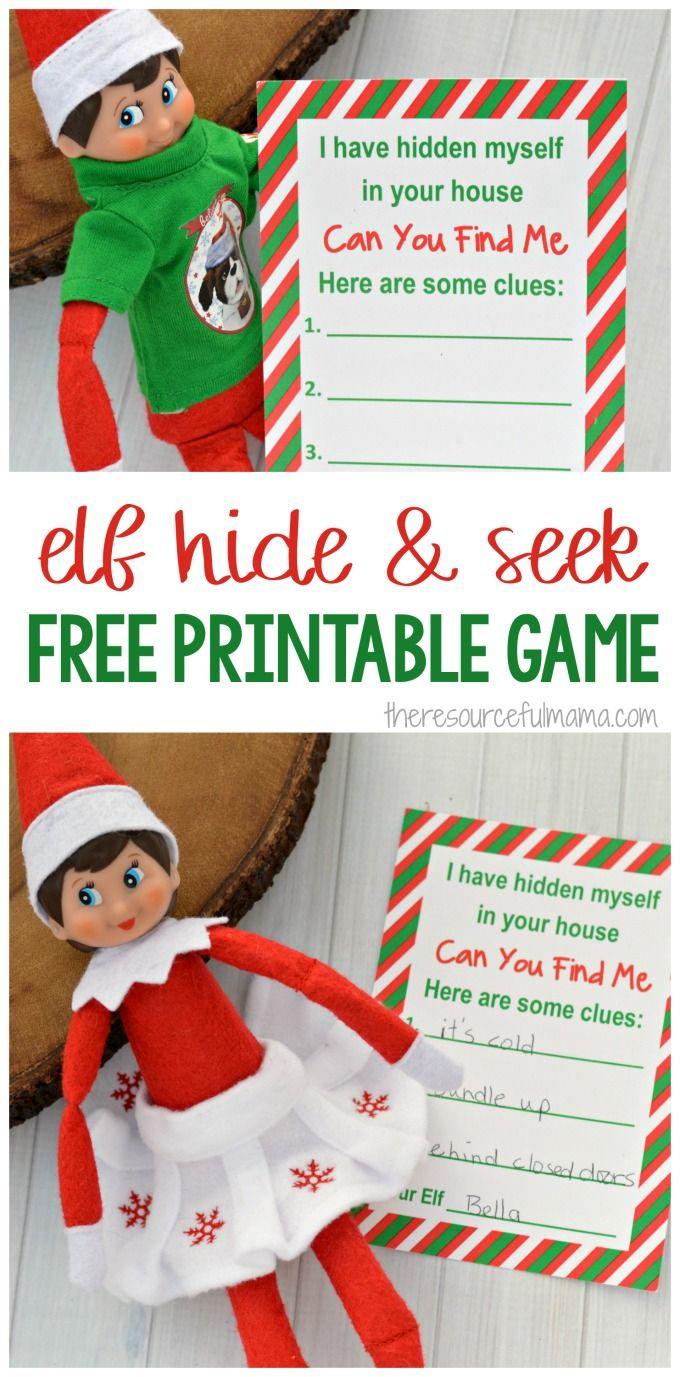 Find It Game-Elf On The Shelf Sonstige