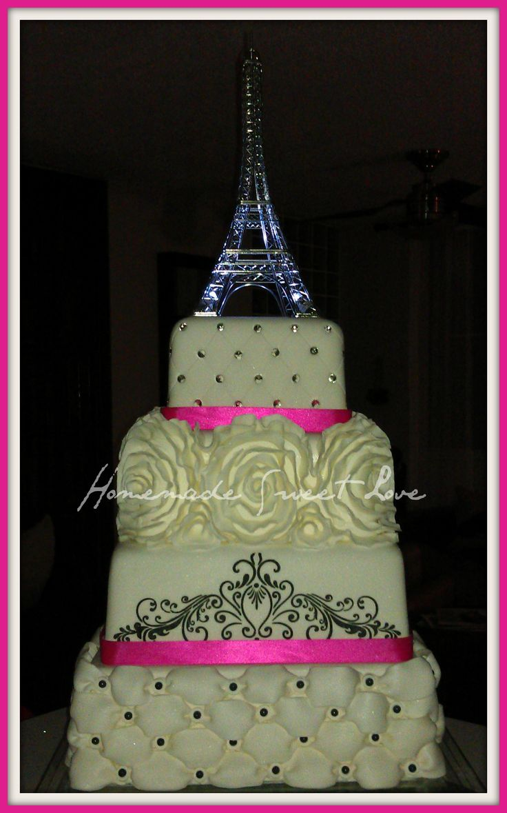 Cake Images With Name Pari : 17 Best images about Paris cake on Pinterest Brooches ...