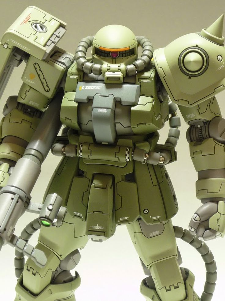 HGUC 1/144 Zaku II F2 Custom Build - Gundam Kits Collection News and Reviews