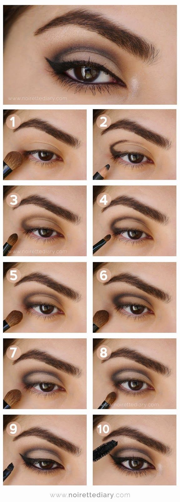 Pictorial: Soft Cut Crease
