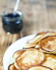 Wholemeal Apple Pikelets