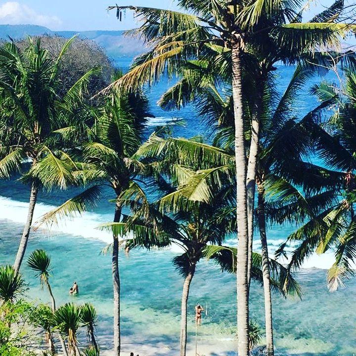 /Padang Bai Beach, Bali\  Never Been on such a beautiful beach ✨
