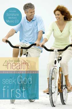 Seek God First, the first in a series of Bible studies created for First Place 4 Health, will help you explore the importance of surrendering your mind, body, emotions and soul to Jesus.