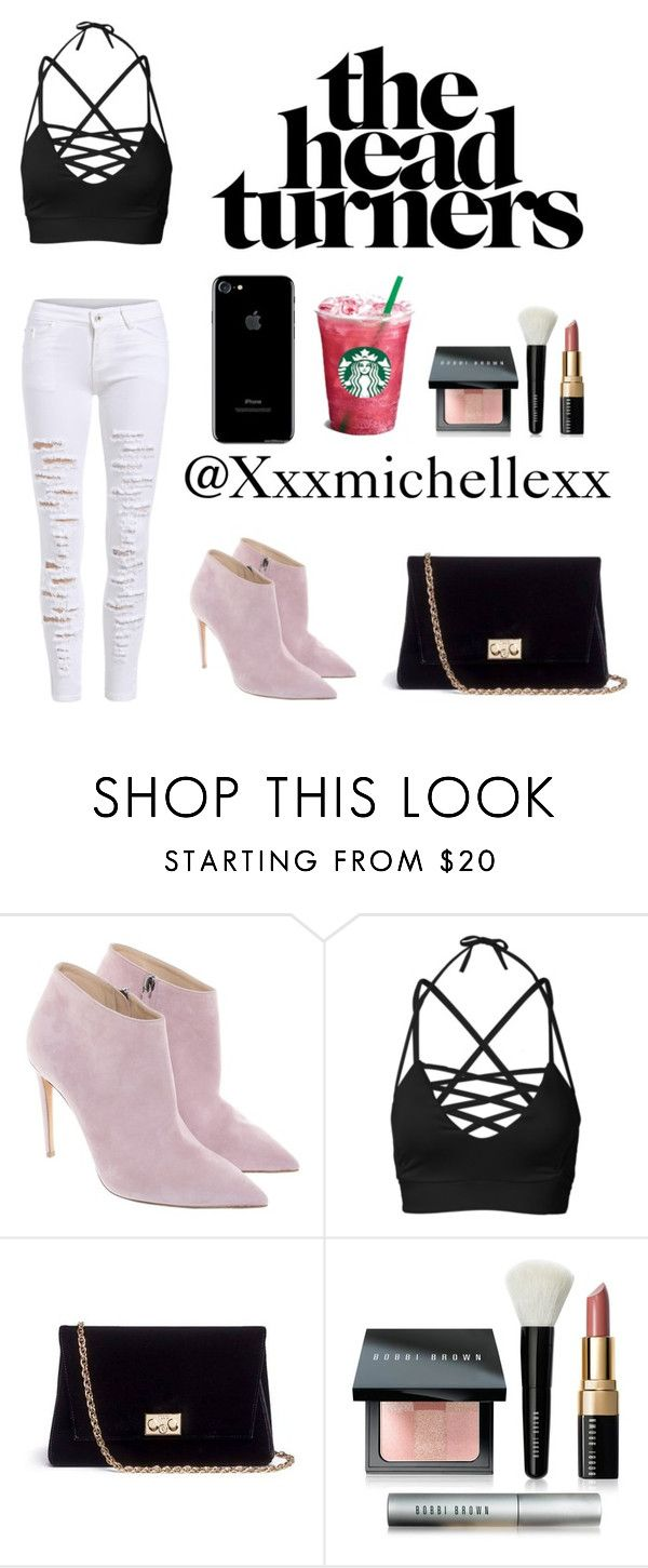 """""""The head turners😏"""" by xxxmichellexx ❤ liked on Polyvore featuring Ralph Lauren, Rodo and Bobbi Brown Cosmetics"""