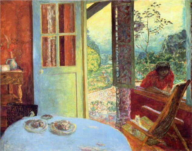 Пьер Боннар. «Дверь в сад». 1913 г.