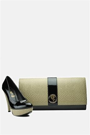 Versace 19.69 Kadın Portföy Ve Ayakkabı Takımı Siyah 229 TL