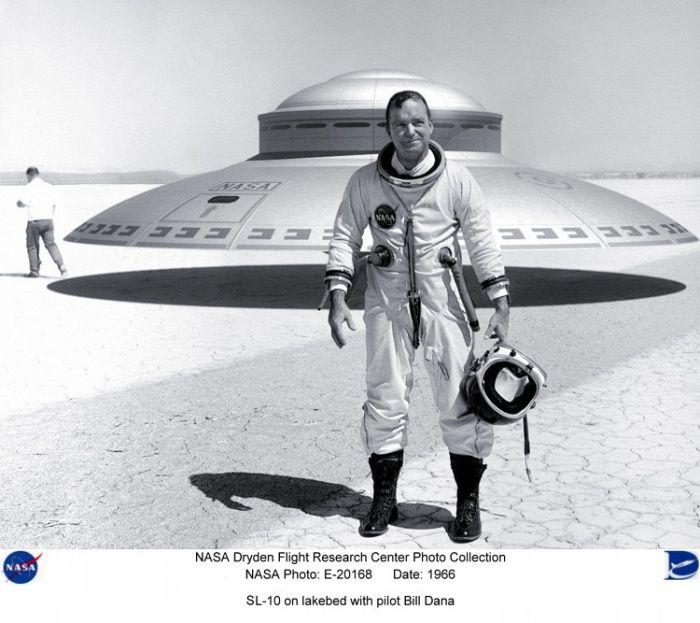 """If NASA's flight research has developed flying saucer's (which has not been public knowledge), could this in part explain many of the """"UFO"""" sightings?"""