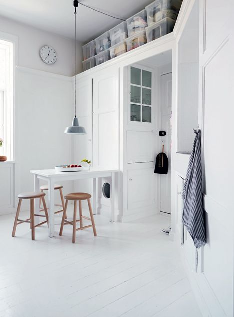 white-kitchen-with-white-painted-wooden-floor.jpg (468×635)