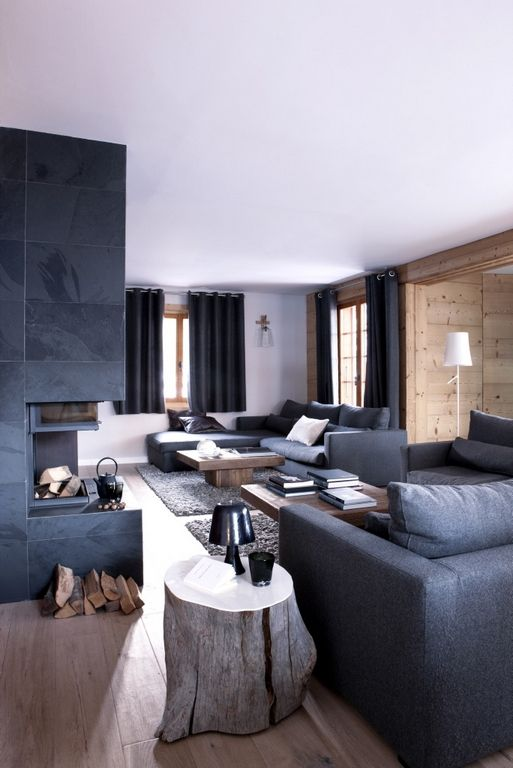 decoration chalet montagne design