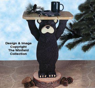 Black Bear Table Woodworking Plan