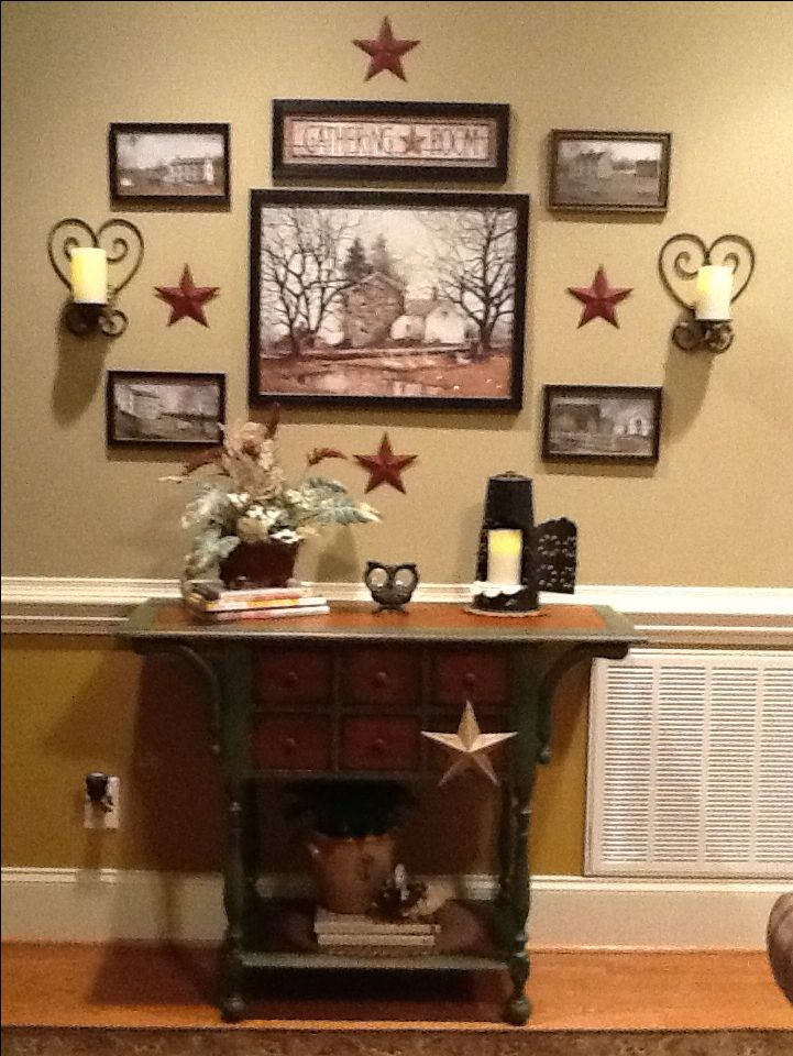 17 best ideas about country wall decor on pinterest rustic gallery wall hallway wall decor - Country wall decor ideas ...