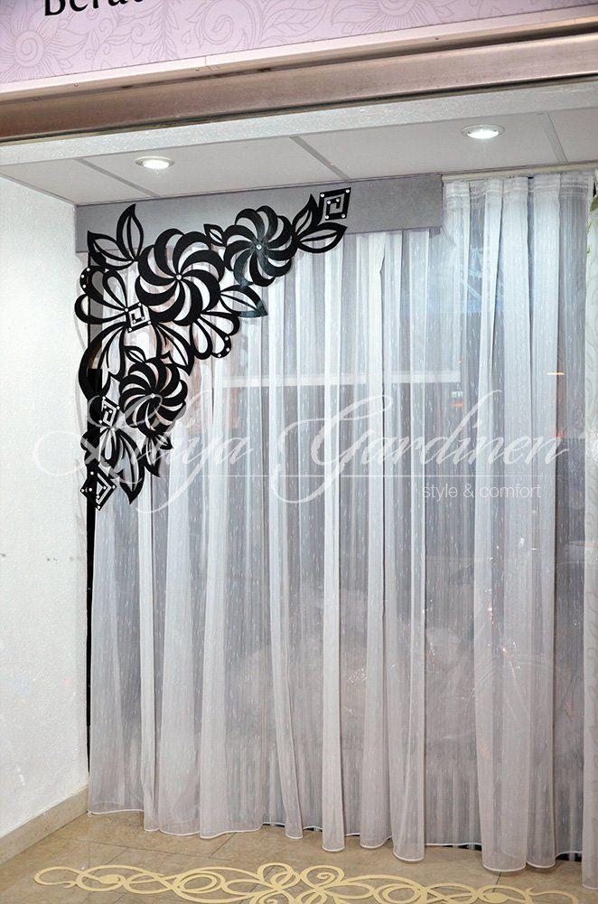 9 besten Gardinen Bilder auf Pinterest Gardinen ideen, Jalousien - scheibengardinen modern wohnzimmer