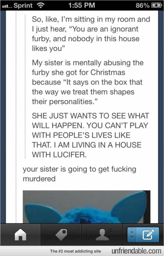 how to change furby personality