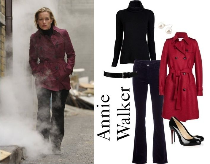 Annie Walker Op - Fashion From Covert Affairs - All Yours Styling