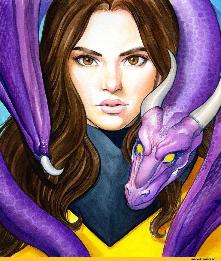 weijic,Kitty Pryde,Призрачная кошка, Китти Прайд,X-Men,Люди-Икс,Marvel,Вселенная Марвел,фэндомы,Lockheed,Локхид
