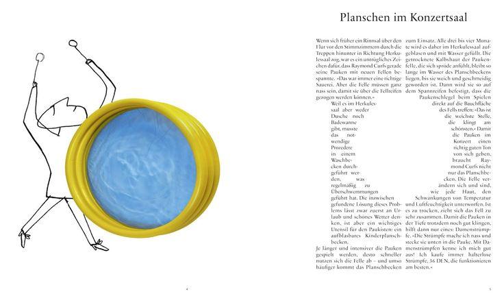 Illustrations for the Symphonieorchester des Bayerischen Rundfunks by Serge Bloch. Illustrations pour l'orchestre symphonique de la radio bavaroise.