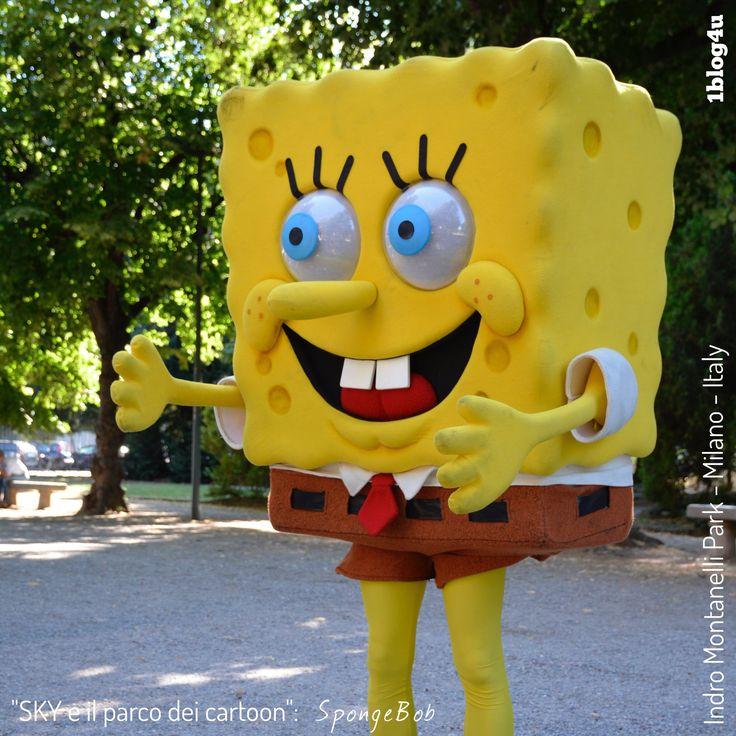 #SKY e il parco dei #cartoon : #SpongeBob #SquarePants - #StephenHillenburg #Nickelodeon - #CheSpettacolo #Giardini #Indro #Montanelli , #Milano , #Italy - #Gabriella #Ruggieri for  #1blog4u - #Sergio #Bellotti - ph. credit #Vaifro #Minoretti for 1blog4u