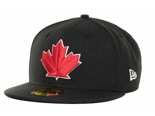 Toronto Blue Jays New Era MLB Black and White Fashion 59FIFTY Cap Hats