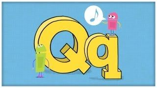 ABC Song - Letter Q - Question For Q by StoryBots, via YouTube.