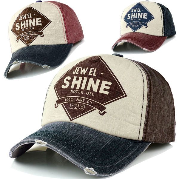 Ball Cap Denim Distressed Vintage Look Baseball Hat Trucker Adjustable 9Colors