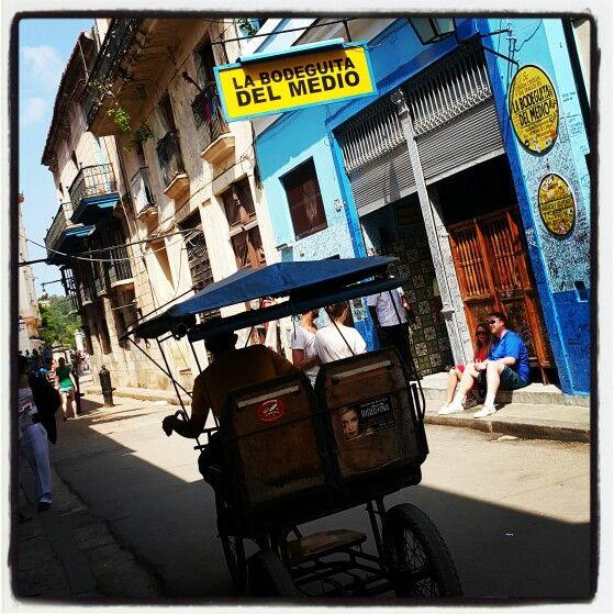 La Habana Vieja. La Bodeguita del Medio.