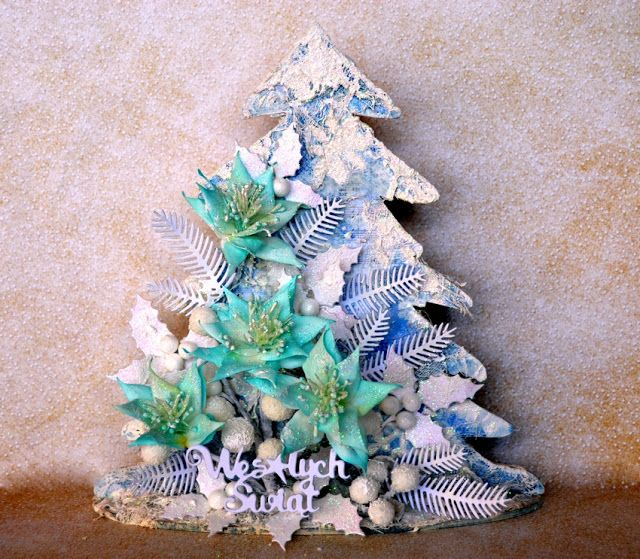 Blog Craft Passion: Choinka / Christmas tree