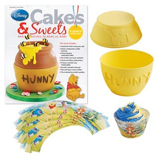 Summer Special Pooh's Hunny-Pot Cake   Disney Cakes & Sweets   Eaglemoss Collections