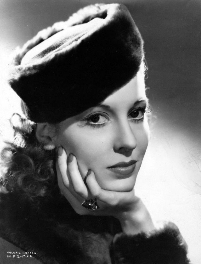 Valerie Hobson - THE SPY IN BLACK | British actresses, Beautiful ...