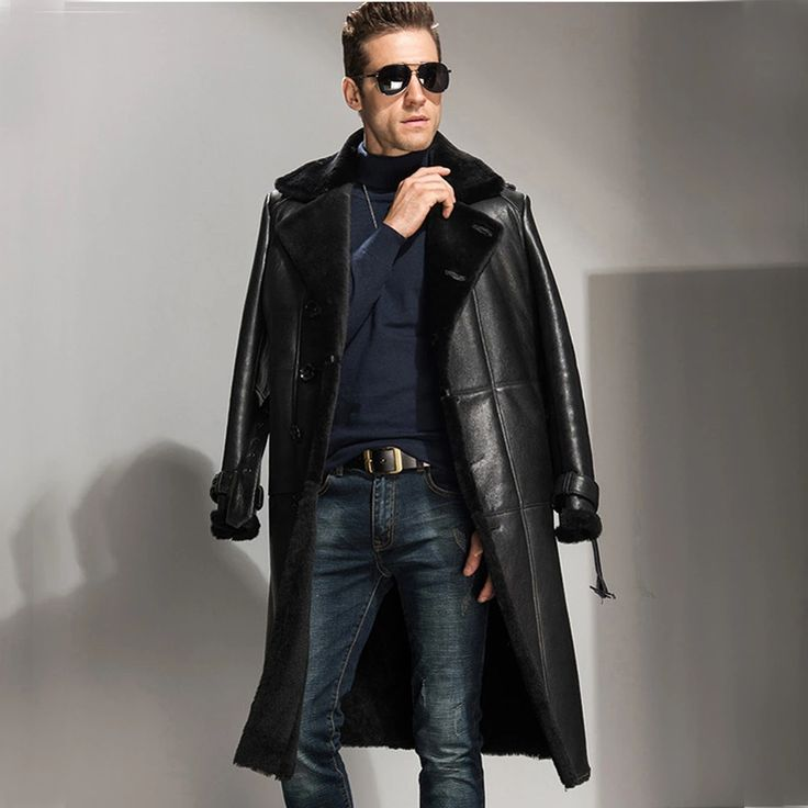 Best 25  Mens shearling coat ideas on Pinterest | Bane jacket ...