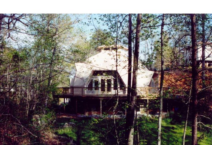 The two photo galleries & YouTube Video below are of concrete home on block basement built in North Carolina. Three bedrooms & two bath dome home.