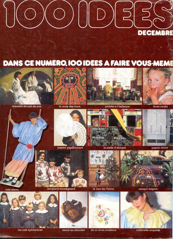 100 Idées n° 50 - décembre 1977 - 4ème de couverture.